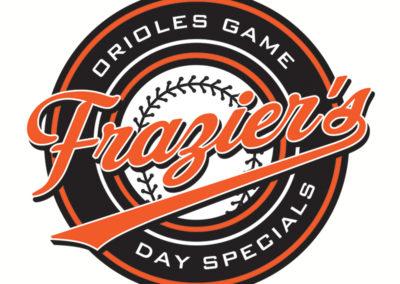 Frazier's Orioles Season logo