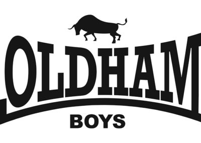Oldham Boys logo (Lonsdale ripoff)