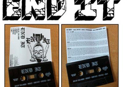 J-Card/Cassette Layout/Design for End It